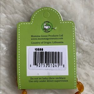 Momma Goose Accessories - Brand new, never used teething necklace.